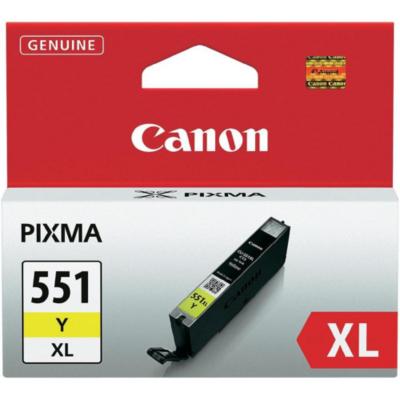Canon  6446B004 Druckerpatrone gelb CLI-551XL Y hohe Ergiebigkeit | 8714574584249