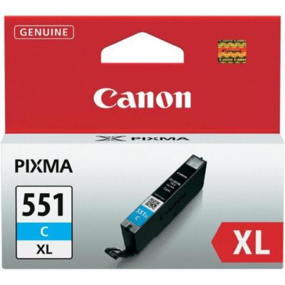 Canon 6444B004 Druckerpatrone cyan CLI-551XL C hohe Ergiebigkeit