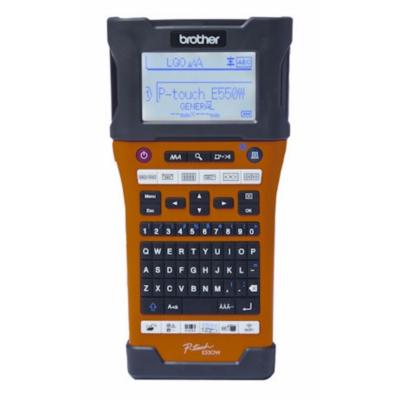 Brother  P-touch E550WVP Beschriftungsgerät inkl. 3 Jahre Garantie Akku USB WLAN | 4977766735674