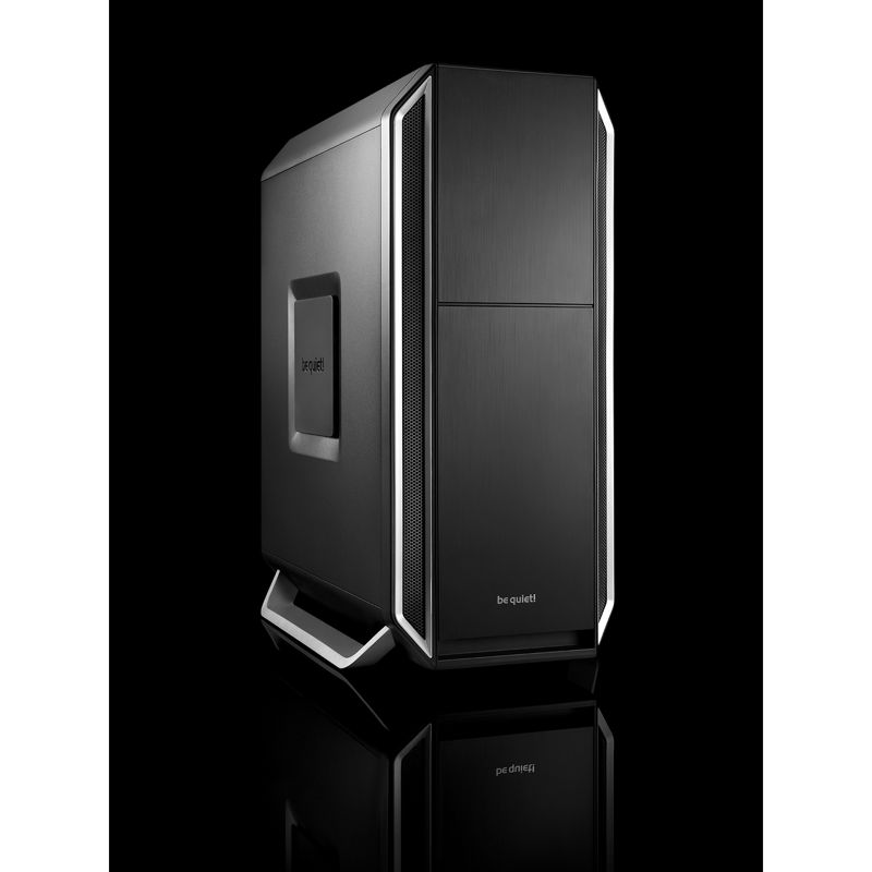 be quiet! Silent Base 800 Midi Tower Gehäuse ATX/mATX/Mini-ITX silber