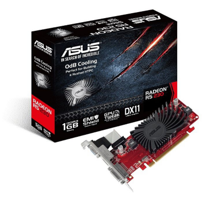 Asus  AMD Radeon R5 230 SL-1GD3-L1GB DVI/HDMI/VGA Passiv Low Profile Grafikkarte | 4716659743446