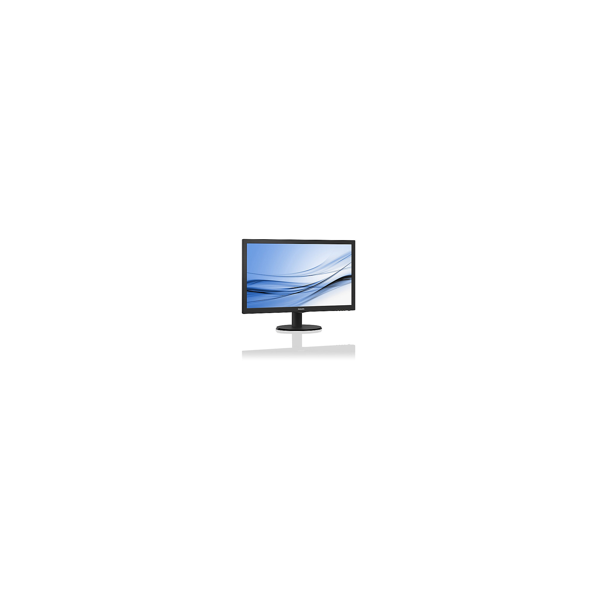 "Philips 223V5LSB/00 54,6 cm (22"") 16:9 Full HD Monitor VGA/DVI 5 ms 10Mio:1"