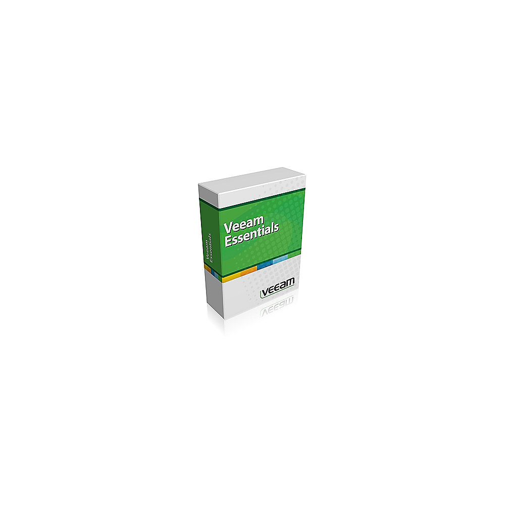 Veeam Backup Essentials 7 Enterprise Plus for VMware 2Sockets, 1Y, Multilingual