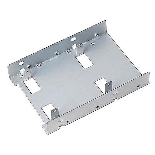 SilverStone SST-SDP08-Lite 3.5 Zoll Einbaurahmen für 2x 2,5 Zoll Festplatten/SSD | 4710007220702