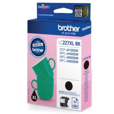 Brother  LC-227XLBK Druckerpatrone schwarz 1.200 Seiten   4977766735940
