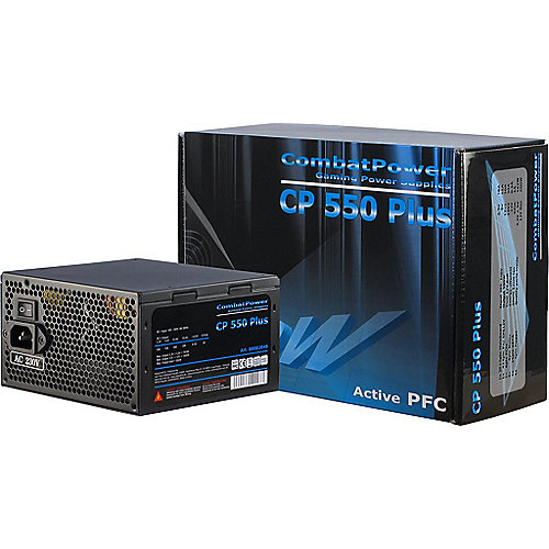 Inter-Tech Combat Power CP 550W Plus ATX 2.2 aktiver PFC (135mm Lüfter)