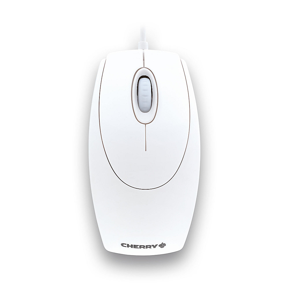 Cherry M-5400-0 WheelMouse optical USB/ PS/2 weiß-grau