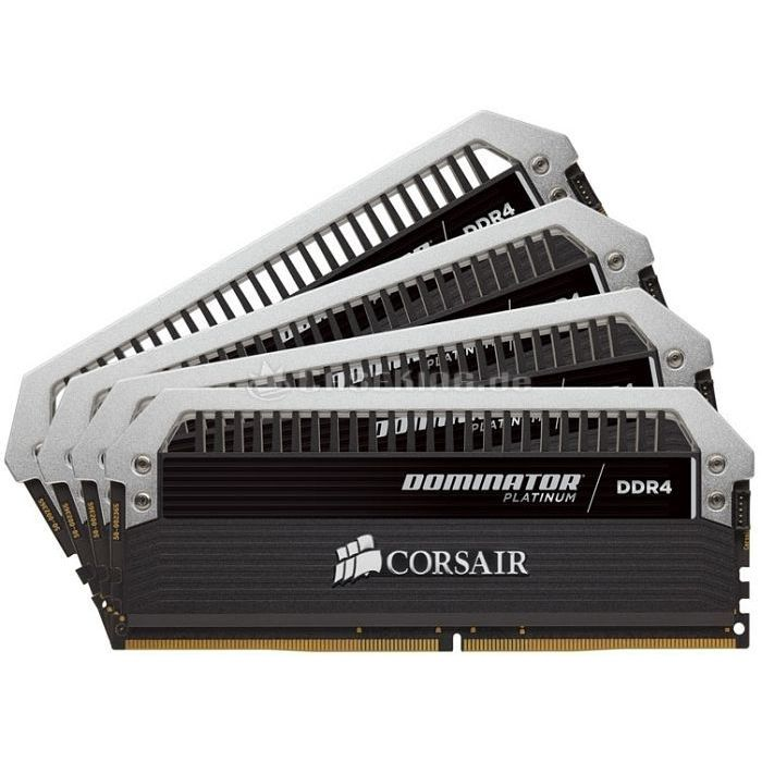 16GB (4 x 4GB) Corsair Dominator Platinum DDR4-2666 CL15 (15-17-17-35) Kit