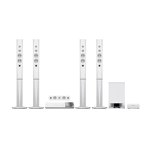 SONY BDV-N9200WW 5.1 Blu-ray 3D Heimkinosystem mit High-Resolution Audio weiß