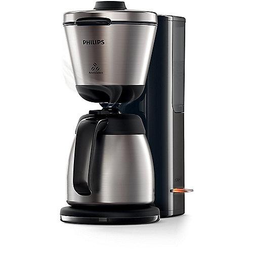 Philips Intense HD7697/90 Kaffeemaschine mit Thermokanne, Edelstahl schwarz | 8710103672944