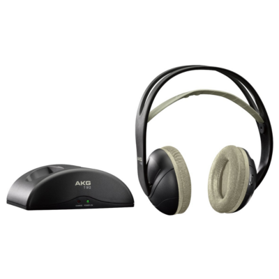 AKG  K 912 Over-Ear-Funk-Kopfhörer – Schwarz   9002761028195