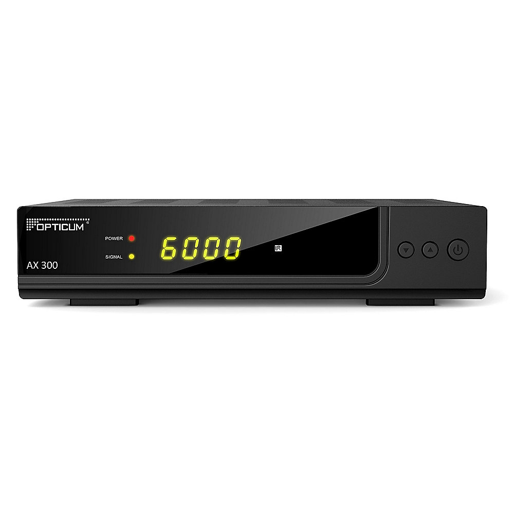 Opticum HD AX 300 (DVB-S2, HDMI, Scart, USB PVR)
