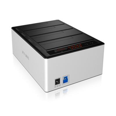 RaidSonic  Icy Box IB-141CL-U3 4fach Docking Station für HDD USB 3.0 | 4250078189657