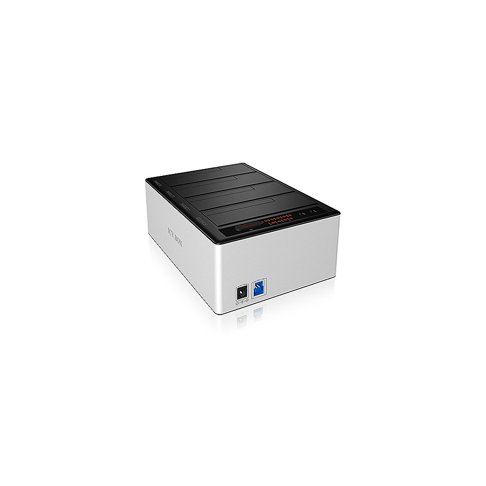 RaidSonic Icy Box IB-141CL-U3 4fach Docking Station für HDD USB 3.0