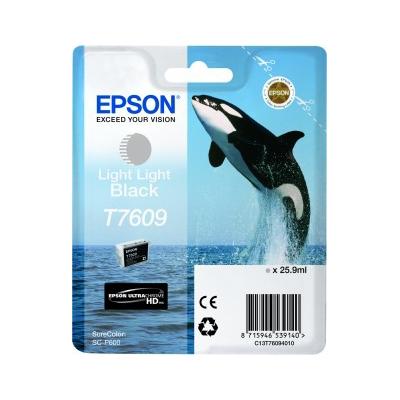 Epson  C13T76094010 Druckerpatrone T7609 Light Light Black SC-P600   8715946539140