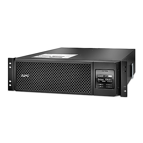 APC Smart-UPS SRT 5000VA RM 230V (RJ-45 Serial, Smart-Slot, USB) Rack-Mount