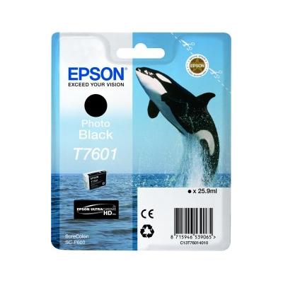 Epson  C13T76014010 Druckerpatrone T7601 Photo Black SC-P600 | 8715946539065