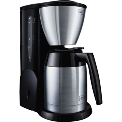 Melitta  Single 5 Therm M 728bk SST Kaffeemaschine + Becher Edelstahl/schwarz | 4006508211197