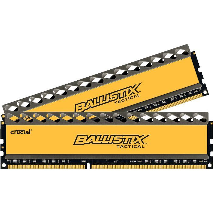 8GB Crucial Ballistix Tactical DDR3-1600 CL8 (8-8-8-24) RAM - Kit