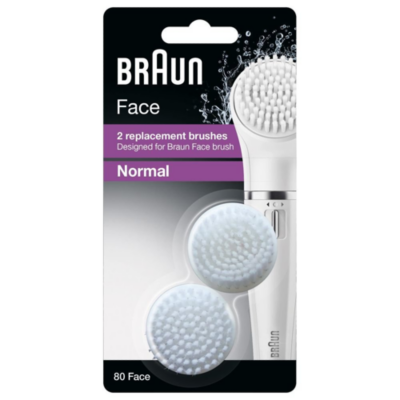 Braun  Face SE80 Ersatzbürsten 2er Pack | 4210201119562
