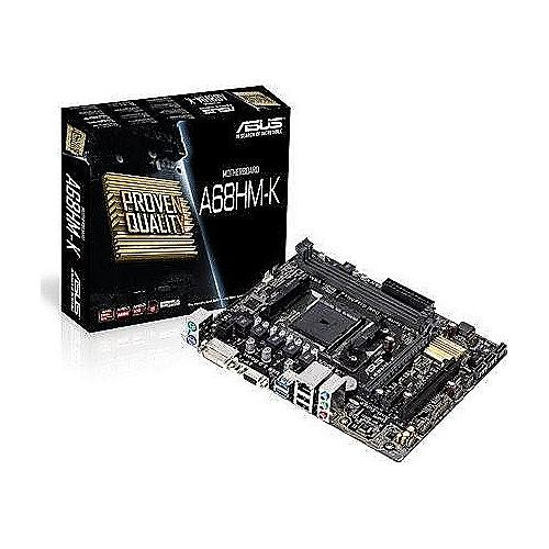 ASUS A68HM-K GL/SATA600/R/USB3.0/DVI/VGA A68X mATX Mainboard Sockel FM2+