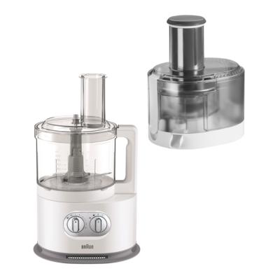 Braun  FP 5160 Kompakt-Küchenmaschine Weiß | 8021098771070