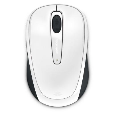 Microsoft  Wireless Mobile Mouse 3500 White Gloss GMF-00196 | 0885370371314