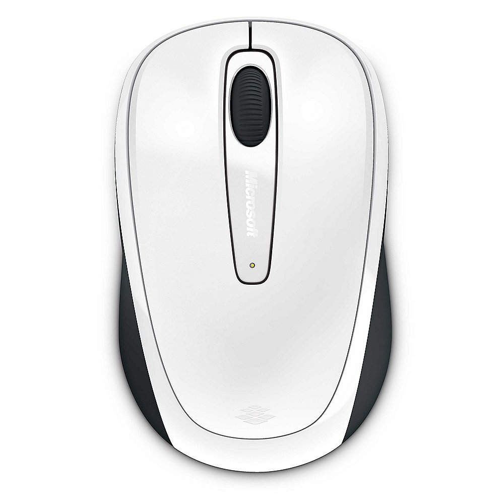 Microsoft Wireless Mobile Mouse 3500 White Gloss