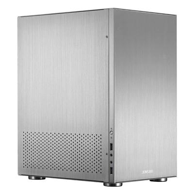 Cooltek  Jonsbo C3 Mini Tower Gehäuse ITX/mATX USB3.0 silber | 4250140369703
