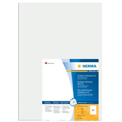 Herma  8695 A3 Outdoor Klebefolie 297×420 mm weiß extrem stark haftend 50Stk. | 4008705086950