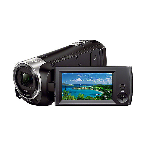 Sony HDR-CX240E schwarz Full HD Flash Camcorder