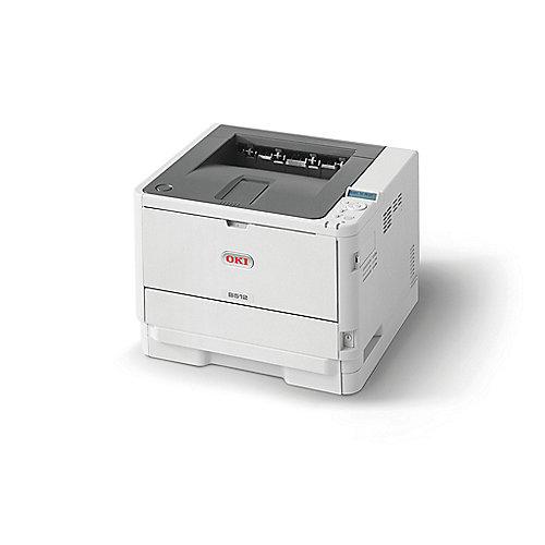 OKI B512dn LED-S/W-Laserdrucker LAN