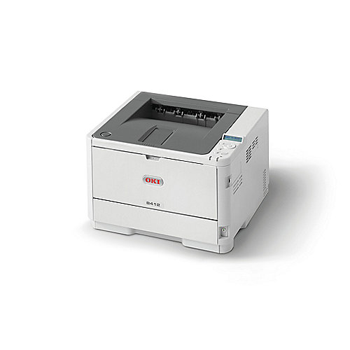 OKI B412dn LED-S/W-Laserdrucker LAN
