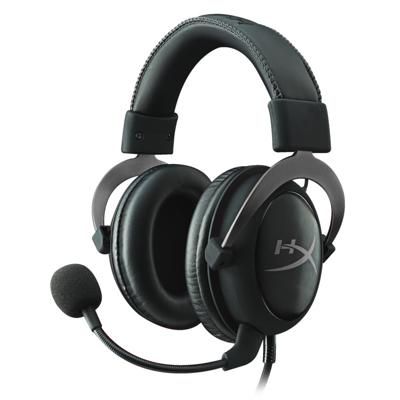 HyperX Cloud II Headset Gun Metal PC Mac PS4 XBOX One auf Rechnung bestellen