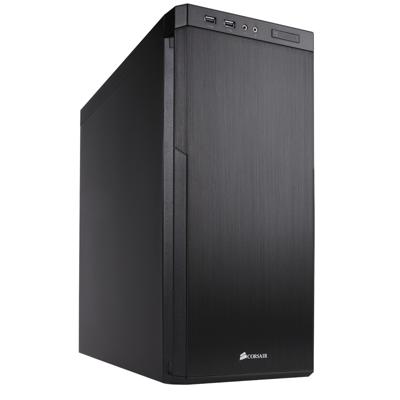 Corsair  Carbide 330R Midi Tower Blackout Edition ATX/mATX/mITX schallgedämmt | 0843591056502