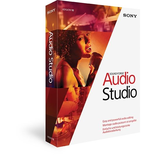 Sound Forge Audio Studio 10 ml. Win Release 2014