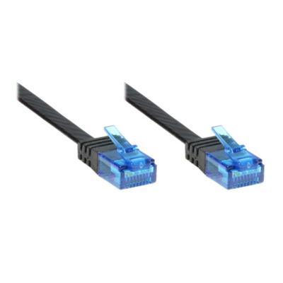 Good Connections  Patchkabel Cat. 6a U/UTP Flachkabel 500 MHz schwarz 1,5m | 4014619830350