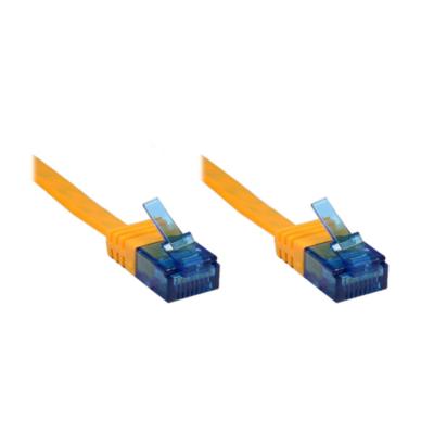 Good Connections  Patchkabel Cat. 6a U/UTP Flachkabel 500 MHz orange 2m | 4014619830442