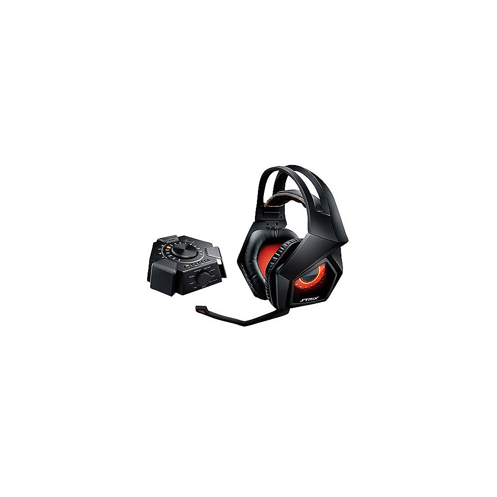 Asus Strix 7.1 Gaming Headset 3,5mm Klinke schwarz