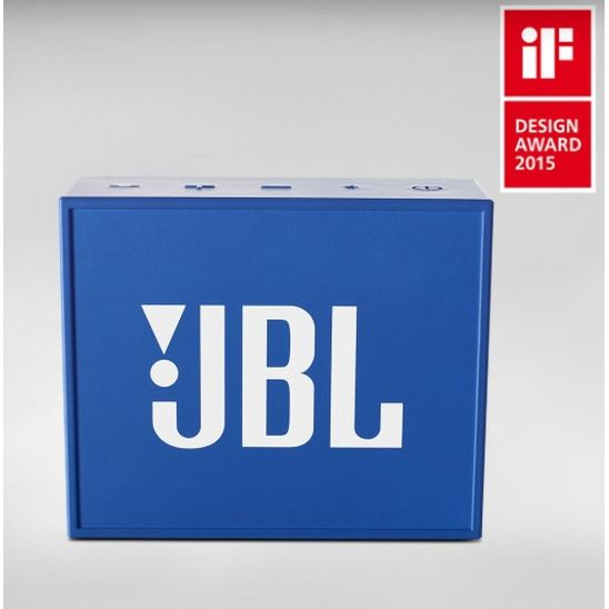 JBL GO Blue - wireless/ultraportable Bluetooth-Lautsprechersystem, blau