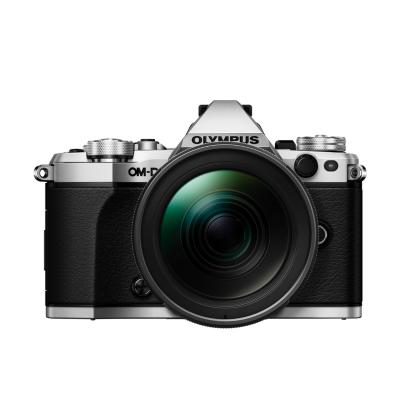 Olympus  OM-D E-M5 Mark II Kit 12‑40mm 1:2.8 PRO Systemkamera silber | 4545350048327
