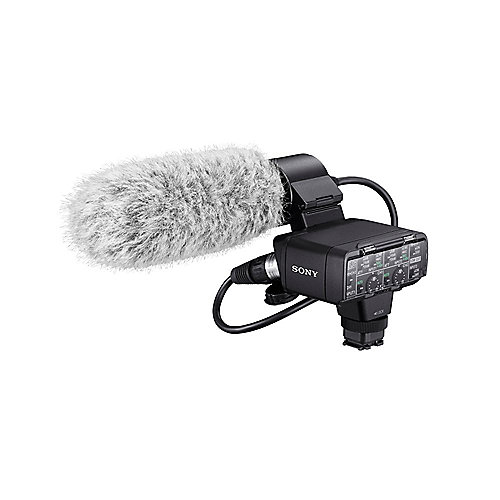 Sony XLR-K2M Adapter-Kit mit Mikrofon