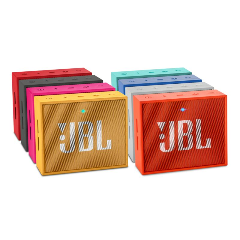 JBL GO Red - wireless/ultraportabler Bluetooth-Lautsprechersystem, rot