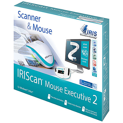 IRIS IRISCAN Mouse Executive 2 All-in-One Mausscanner