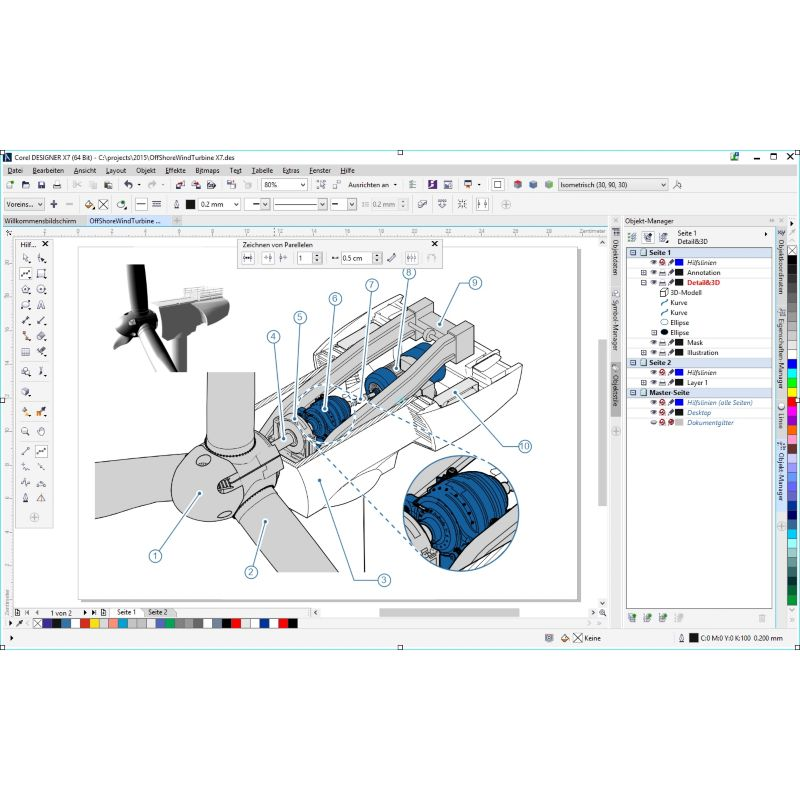 CorelDRAW Technical Suite X7 Win