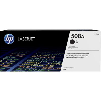 HP  CF360A Original Tonerkassette schwarz 6.000S.  508A Laserjet M553/552   0888793237564