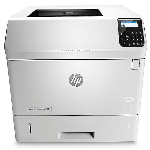 HP LaserJet Enterprise M604dn S/W-Laserdrucker LAN