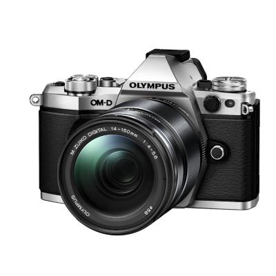 Olympus  OM-D E-M5 Mark II Kit 14-150 mm II Systemkamera silber | 4545350048396