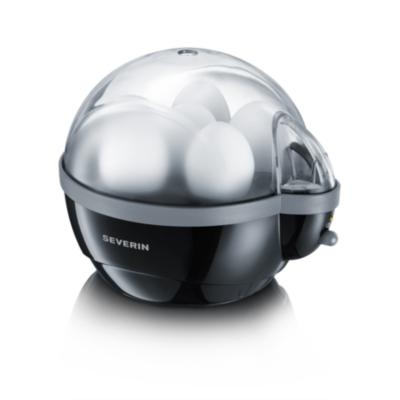 Severin  EK 3056 Eierkocher schwarz-grau | 4008146009099