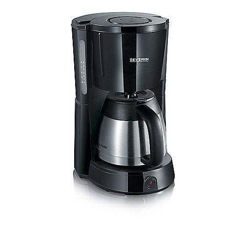 Severin KA 4131 Kaffeeautomat mit Edelstahl-Thermokanne schwarz | 4008146015977